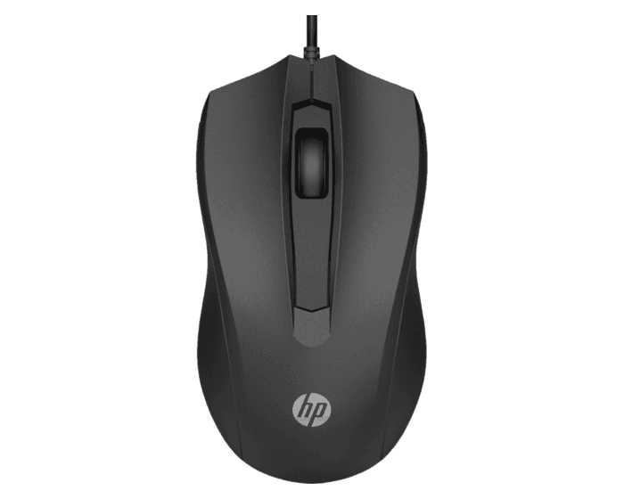 Mouse con Cable HP 100
