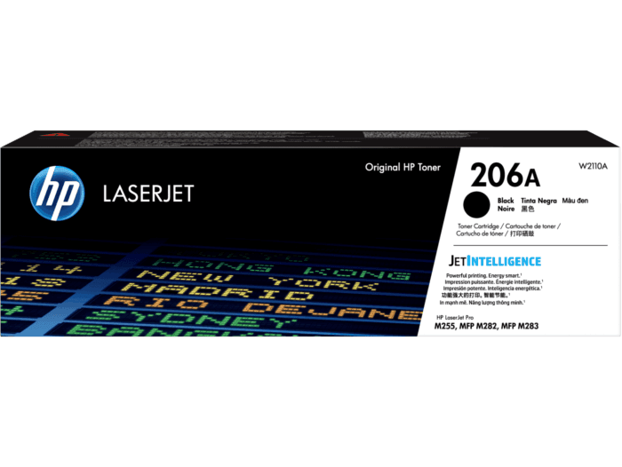 Cartucho de Tóner HP 206A Negro LaserJet Original