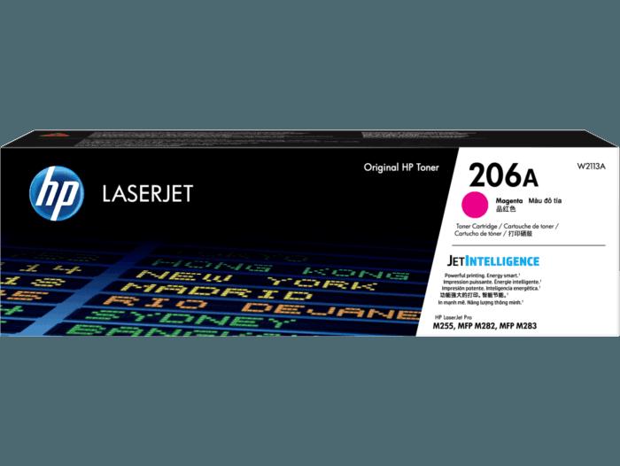 Cartucho de Tóner HP 206A Magenta LaserJet Original