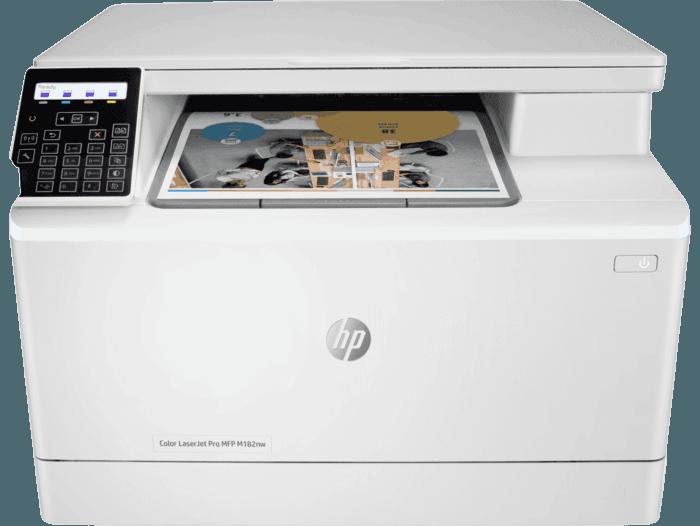 Impresora Multifunción HP Color LaserJet Pro M182nw