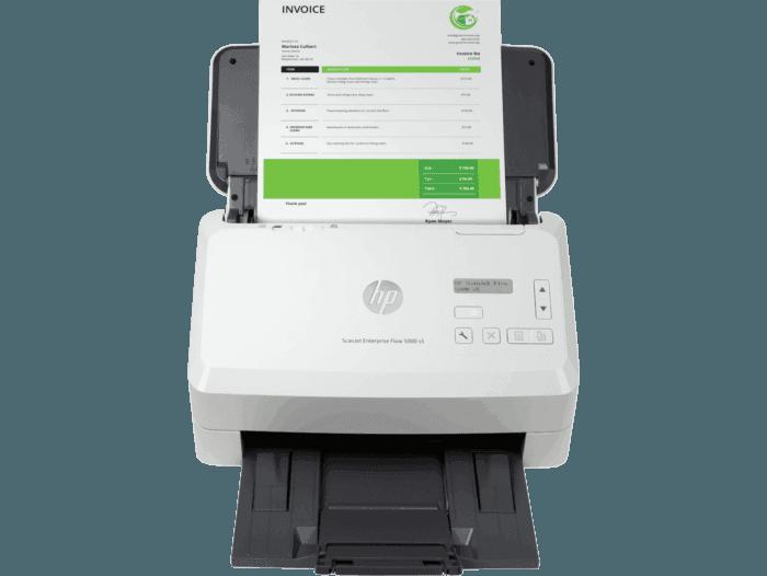 Escáner HP ScanJet Enterprise Flow 5000 s5