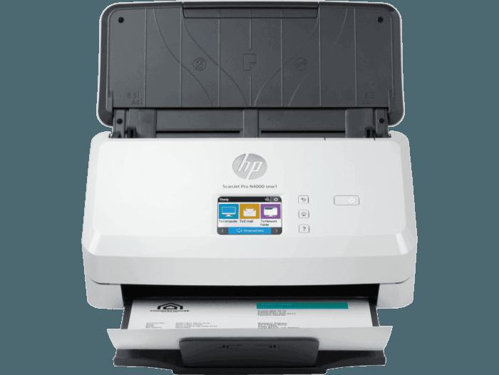 Escáner HP Scanjet Pro N4000 snw1 con Alimentación de Hojas
