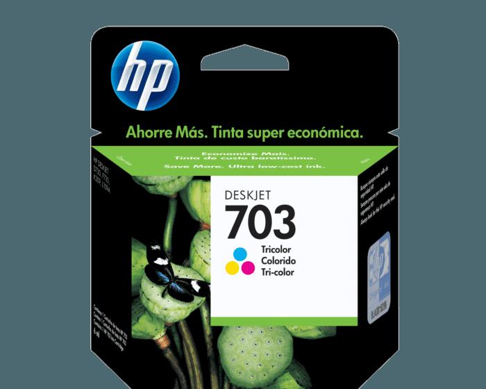 Cartucho de Tinta HP 703 Tricolor Original