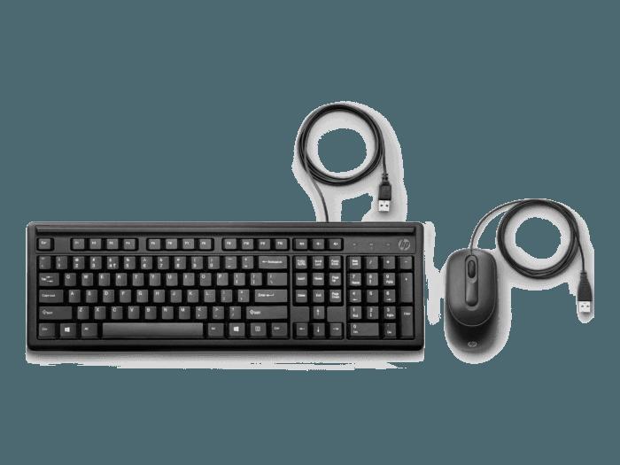 Teclado y Mouse HP 160