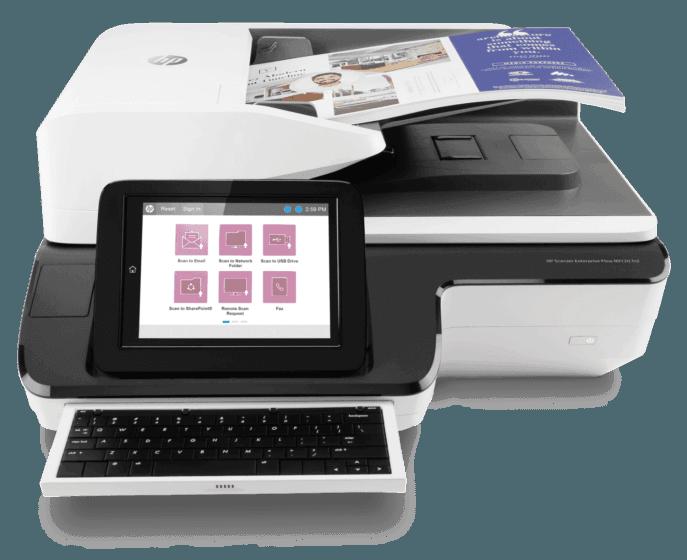 Escáner HP Scanjet Enterprise Flow N9120 fn2