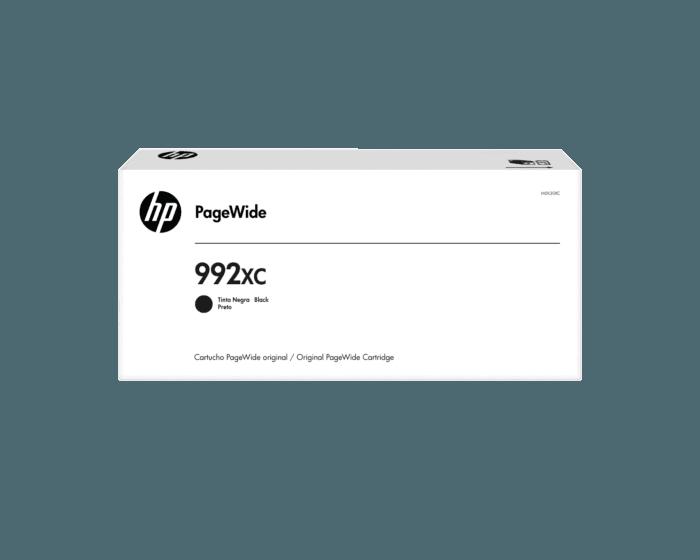 Cartucho de Tinta HP Contractual 992XC Negra PageWide Original