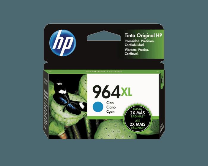 Cartucho de Tinta HP 964XL Cian Original