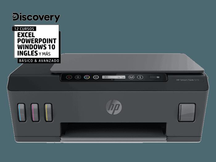 Impresora Multifuncional HP Smart Tank 515 Inalámbrica