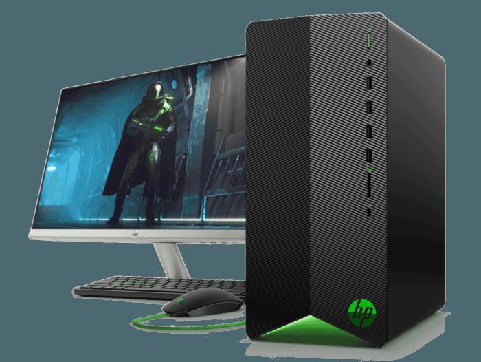 Desktop HP Pavilion Gaming TG01-102bla + Monitor HP 24f de 24