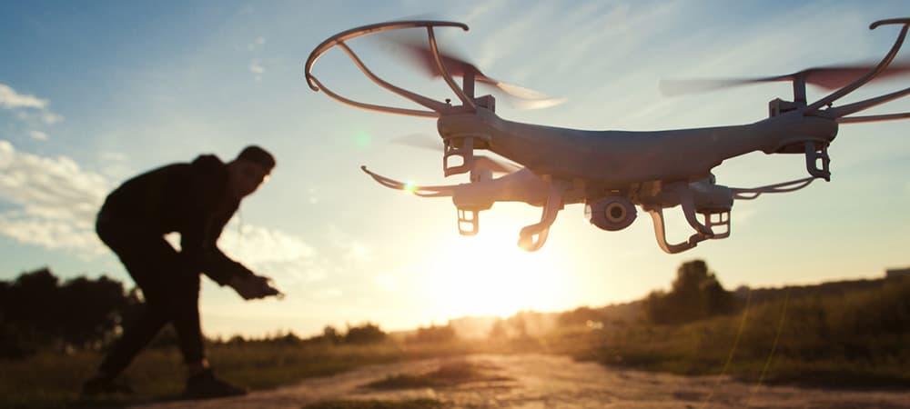 Cómo operar un dron con cámara (sin chocar)