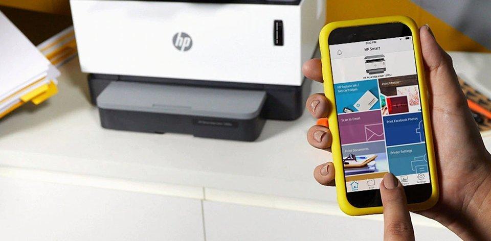 Libertad para trabajar desde cualquier lugar con HP Smart App