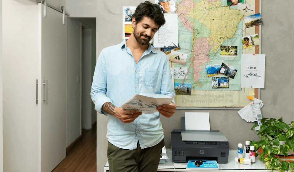 Alto volumen de impresión con HP Smart Tank